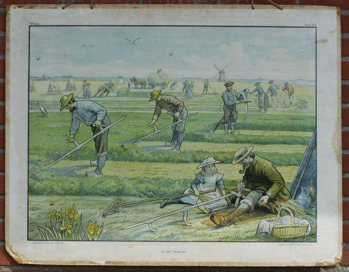 in the hayfield (Cornelis Jetses)