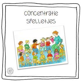 Kleuterjuf in een kleuterklas: Concentratiespelletjes