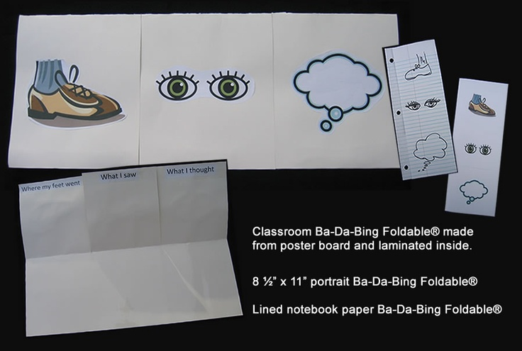 Get in the Fold!: Ba-Da-Bing! A simple, quick writing strategy that produces POWERFUL results!