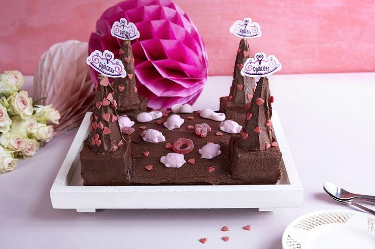 Sjokoladekake Prinsesseslott