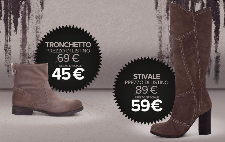 Promo Stivale e Tronchetto!