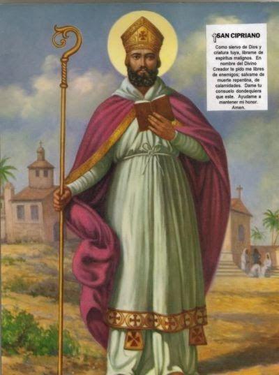 Por los poderes de San Cipriano y de las tres almas que vigila San Cipriano (el nombre de tu ex) Vendrá ahora detrás de mi (tu nombre), v...