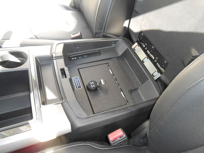 Dodge Ram 1500 - 2500 Full Floor Console: 2013 - 2016