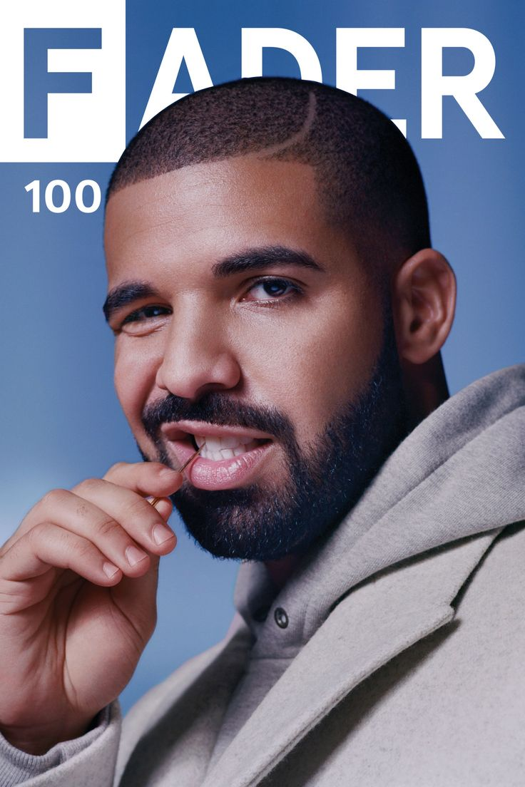 "Get this, 20"" x 30"", Drake poster featuring the cover artwork of The FADER Issue…"