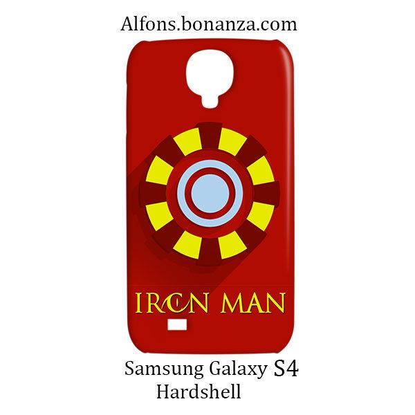 Iron Man Superhero Samsung Galaxy S4 S IV Hardshell Case