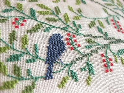 Gerda Bengtsson embroidery detail