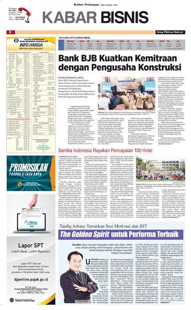 Layout Kabar Priangan Halaman Kabar Bisnis, Rabu 8 Maret 2017 | LAYOUT KABAR PRIANGAN
