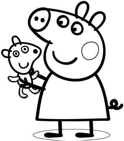 Les 25 meilleures id es de la cat gorie coloriage peppa pig sur pinterest id e d 39 anniversaire - Dessin a imprimer peppa pig ...