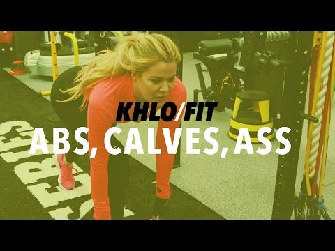 Khloé Kardashian Shows How She Tones Her Famous Butt — Try It At Home! - Great Ideas : People.com