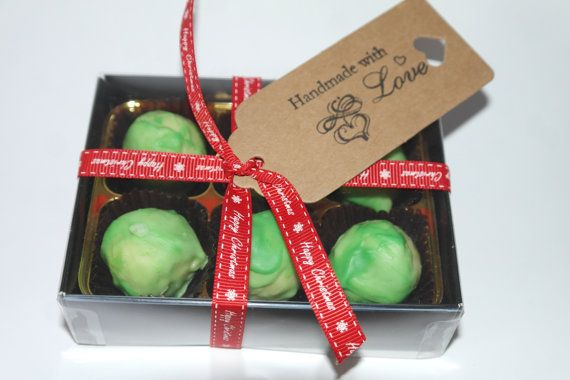 6 Champagne flavour Brussels Sprout Truffles by SweetieLoveUK
