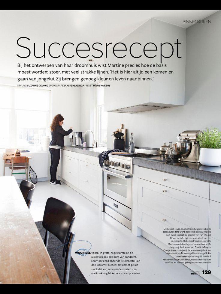 ... over Keukens op Pinterest - Moderne keukens, Lades en Witte keukens