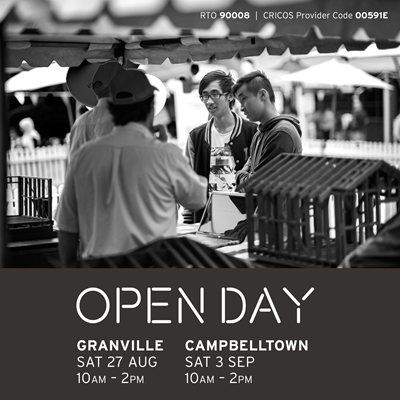 This Saturday is our first Open Day for the year. Come along and experience what TAFE is really like!
