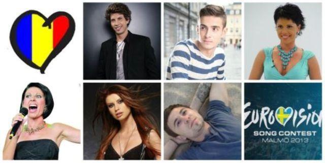 Romania Eurovision 2013: cele 32 de piese semifinaliste (audio)