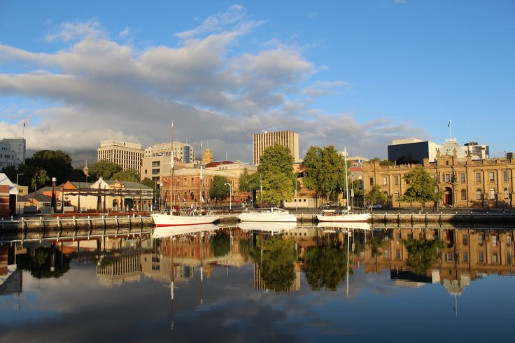 """L1M1AP2 - Time of Day: Hobart""""s Constitution Dock. 7:20am Very crisp & clear beginning to the day. F/8 , Exp 1/200, ISO 100 (Auto), Focal Length 18mm."""