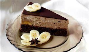 Mousse de chocolate com banana verde - Foto: Getty Images