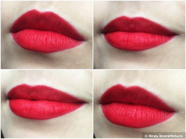 Сравнение идеальных красных Mac Lipstick Retro Matte в