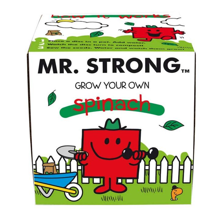 I Just Love It Mr Strong Spinach Grow Kit Mr Strong Spinach Grow Kit - Gift Details. Encourage your little one to eat their greens with help from this fantastic Mr Strong Spinach Grow Kit. Children will get great pleasure from eating somethin http://www.MightGet.com/january-2017-11/i-just-love-it-mr-strong-spinach-grow-kit.asp