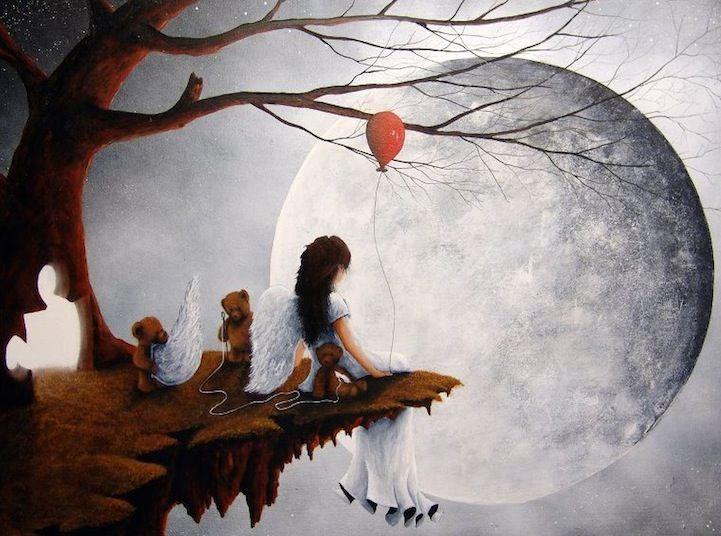 Surreal Paintings by Robert Dowling Jr. via http://goo.gl/DTY6b