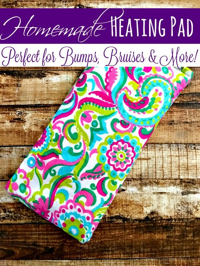 This easy homemade heating pad is perfect when your body needs a ...