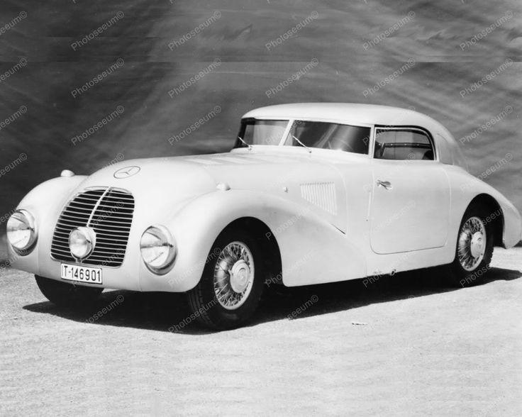 Mercedes Benz 540k Auto 1940 Vintage 8x10 Reprint Of Old Photo