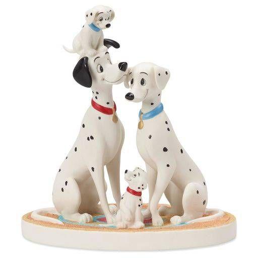 Precious Moments® 101 Dalmatians Pongo and Perdita Figurine,