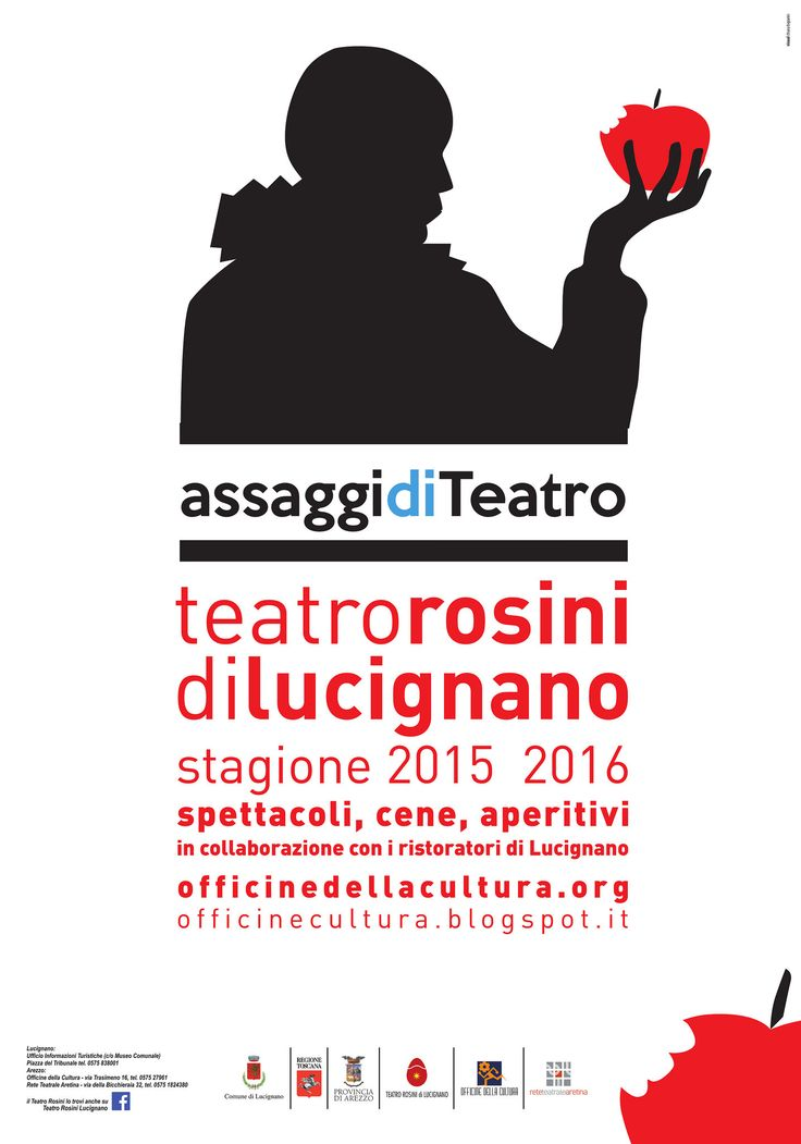 https://flic.kr/p/Ah75mU | Teatro Rosini di Lucignano | Teatro Rosini di Lucignano (AR) - Stagione teatrale 2015/16 a cura di Officine della Cultura
