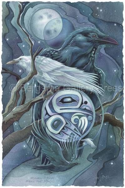 Raven Moon...Touch the magic - Jody Bergsma