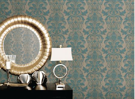 Noordwand - Vintage Damasks Verkrijgbaar bij Deco Home Bos in Boxmeer. www.decohomebos.nl