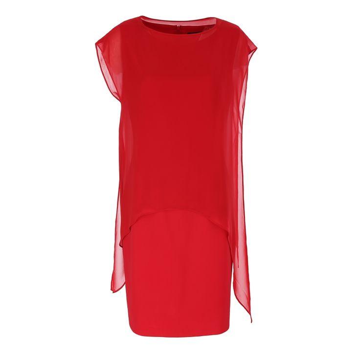 Sukienka tuszująca biodra czerwona http://fashion4u.pl/sukienka-tuszujaca-biodra-czerwona/