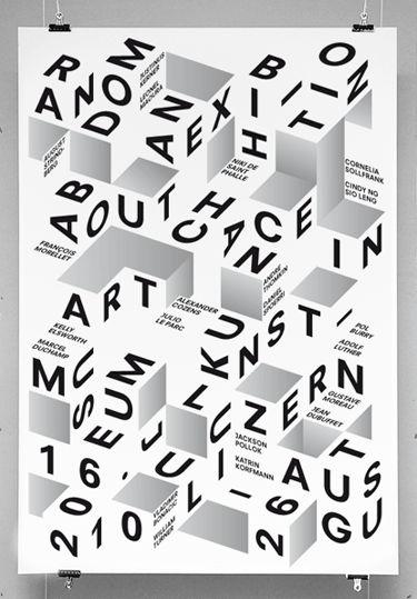 Random: An Exhibition About Chance in Art. Museum Kunst Lu Zern, 16 Juli-26 August 2010.