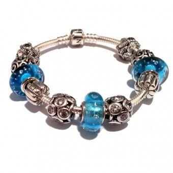 Bracelet Pandora Bleu Mer du Sud