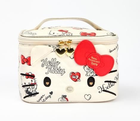 Hello Kitty 40th Anniversary Vanity Case: Hug