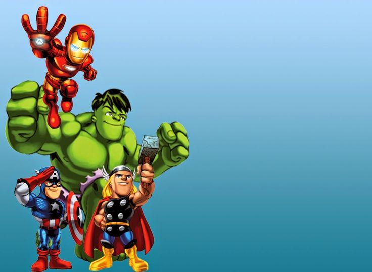 Avengers Pinterest: The Avengers Free Printable Invitations Or Cards
