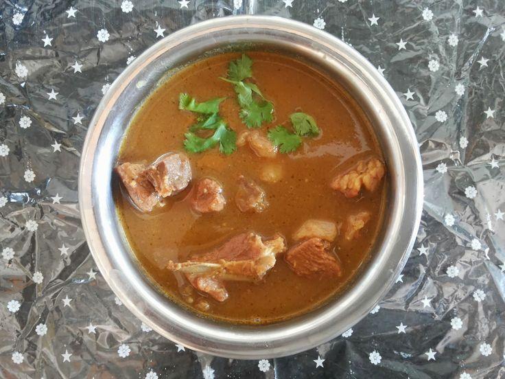 cookingcrest - non veg: Mutton kuzhambu | Mutton curry