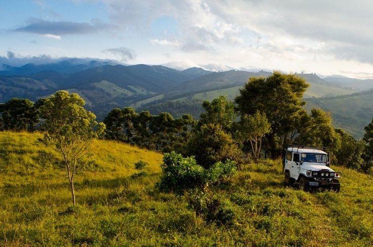 Jipe nos arredores de Gonçalves, Minas Gerais