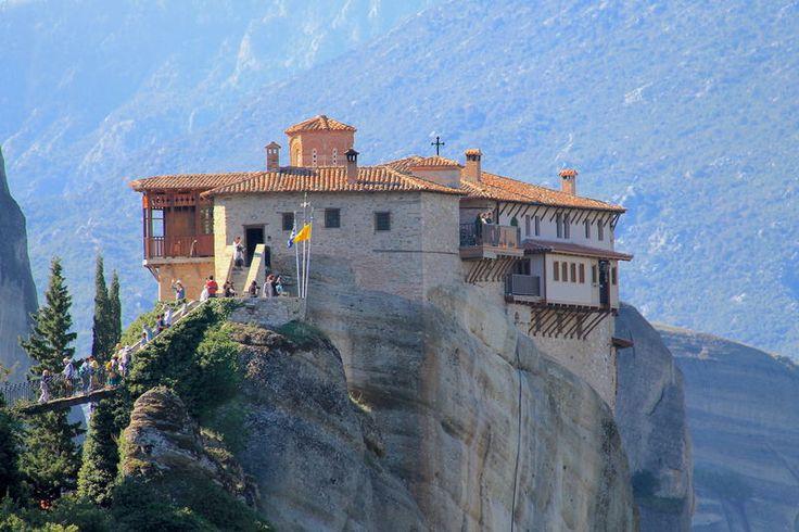 !Grecja, Meteory - Klasztor Rusanu / Klasztor Świętej Barbary