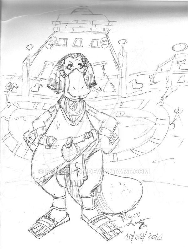 Sketch made with pen under a parasol by the sea :D Planet Inb The tourist guide of the city of Ankhin :XD: --------------- Schizzo fatto con la penna sotto l'ombrellone a mare  Pianeta Inb La guida turistica della città di Ankhin :XD: