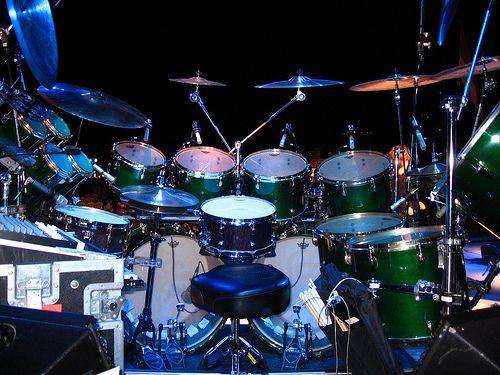 Simon Phillips' TOTO - tour kit