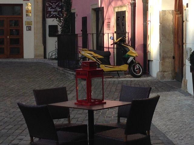 Cafe at Ungelt