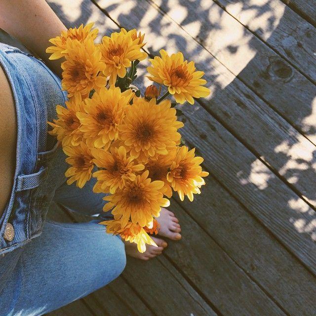 Self Leggies with Flowers