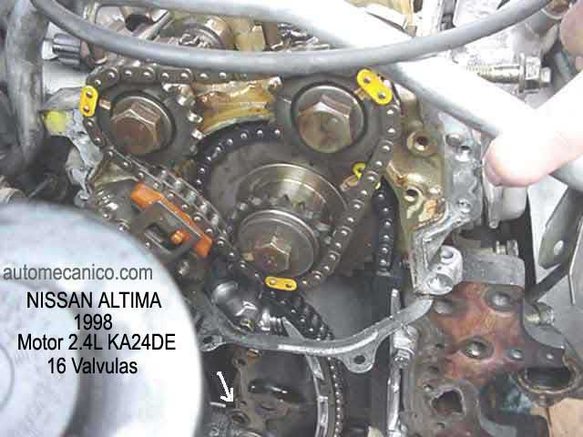 Cadena De Tiempo Nissan Altima 2 5 7 In 2020 Nissan Altima Nissan 2006 Nissan Altima