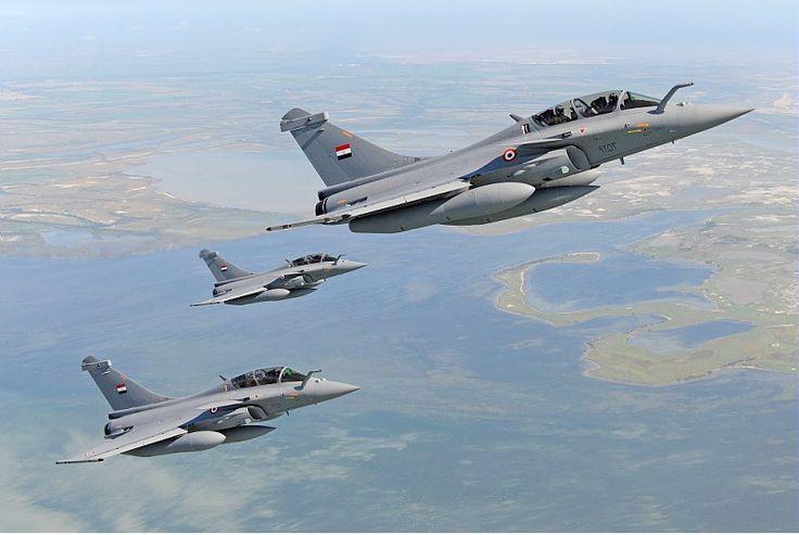 L'Egypte a reçu 3 chasseurs Rafale supplémentaires. © Dassault Aviation - A. Pecchi