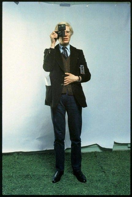 Andy Warhol by Annie Leibovitz