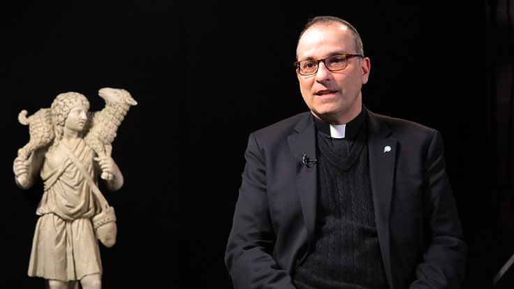"""Our president, Paulist Fr. Eric Andrews, recently sat down for a great """"Witness Interview"""" with Basilian Fr. Thomas Rosica of Salt + Light Media. Check it out at this link."""