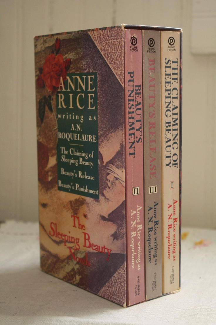 """Sleeping Beauty as you have NEVER heard it!!!! Anne Rice writing as """"A. N. Roquelaure"""" her erotica series!"""