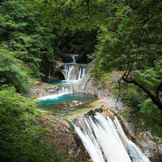 Nishizawa Valley, Yamanashi, Japan