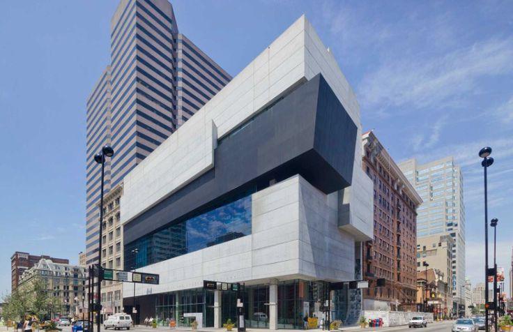 Contempary Arts Center / Cincinnati, Ohio / Zaha Hadid