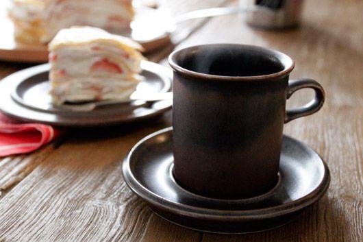 ARABIA (アラビア) Ruska (ルスカ) コーヒーカップ&ソーサー
