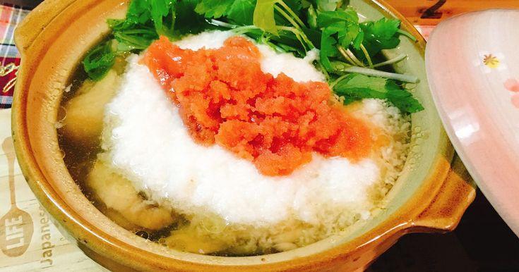 こりゃぁ美味い!大絶賛☆明太とろろ鍋。 by shinke☆ [クックパッド] 簡単おいしいみんなのレシピが260万品