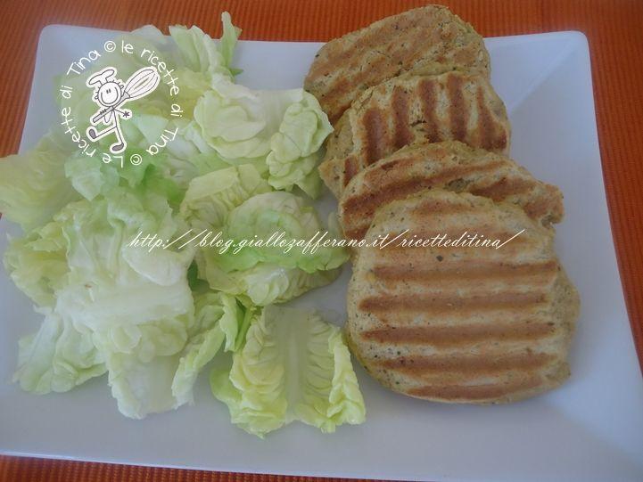 Hamburger di ceci,ricetta vegetariana